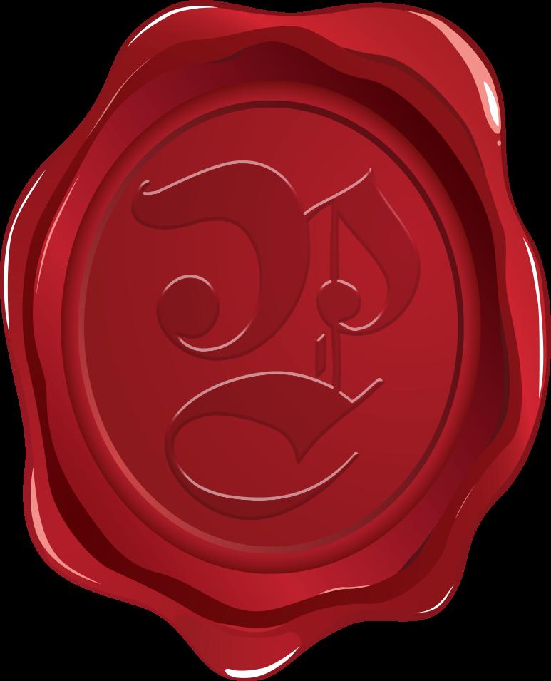 Cachet de cire des Compagnons de Panaveyre